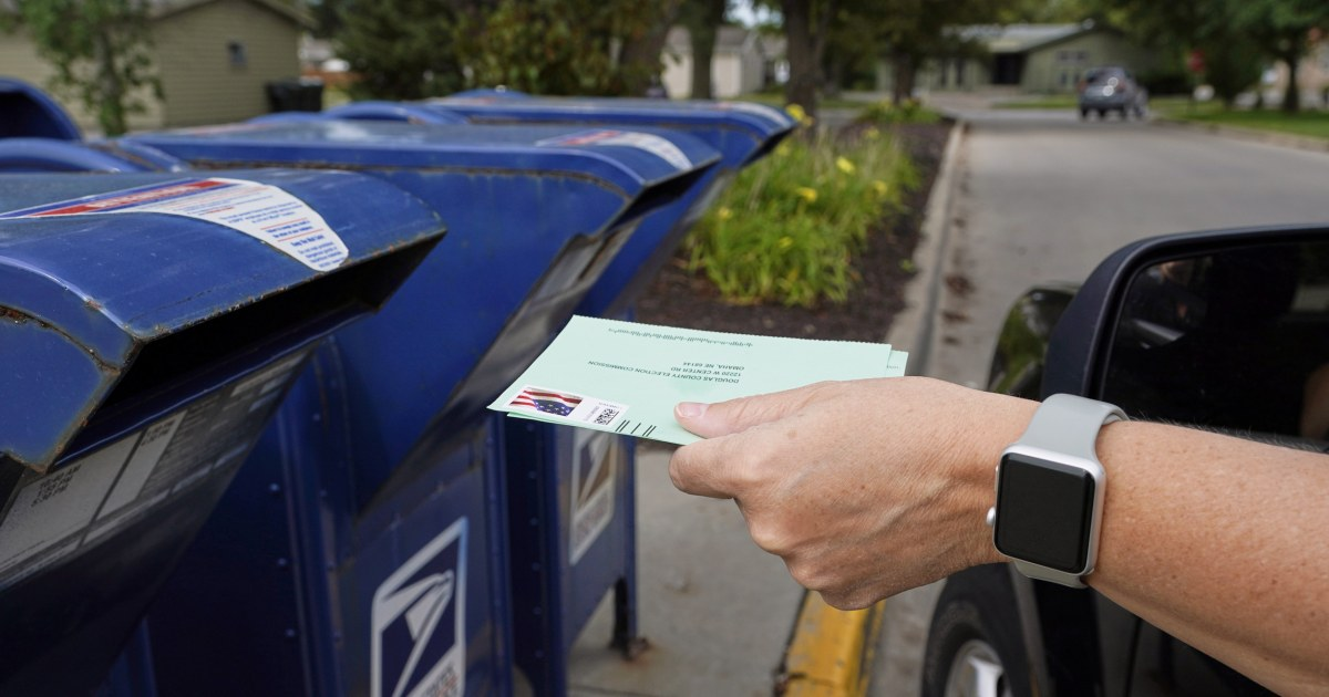 Postal Service must process election mail on time judge rules – NBC News