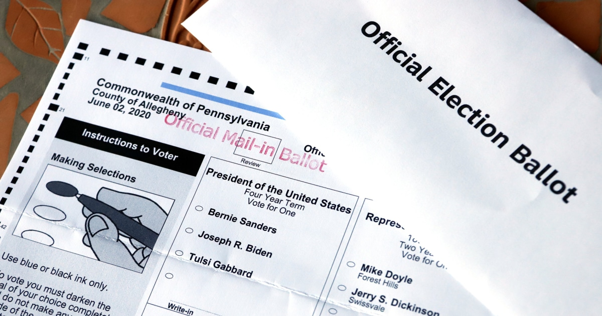 'Naked ballots,' explained: In Pennsylvania, new court ruling complicates mail-in voting