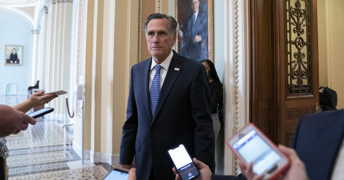 Mitt Romney challenges his party to reject the 'big lie'