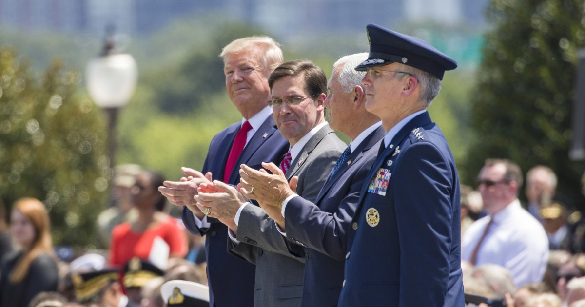 More than 200 retired generals, admirals endorse Biden, including some who served under Trump