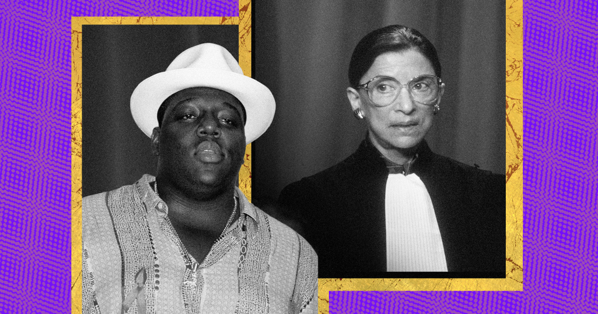 Notorious B.I.G.'s son: My dad would be 'honored to share Notorious title' with Ruth Bader Ginsburg