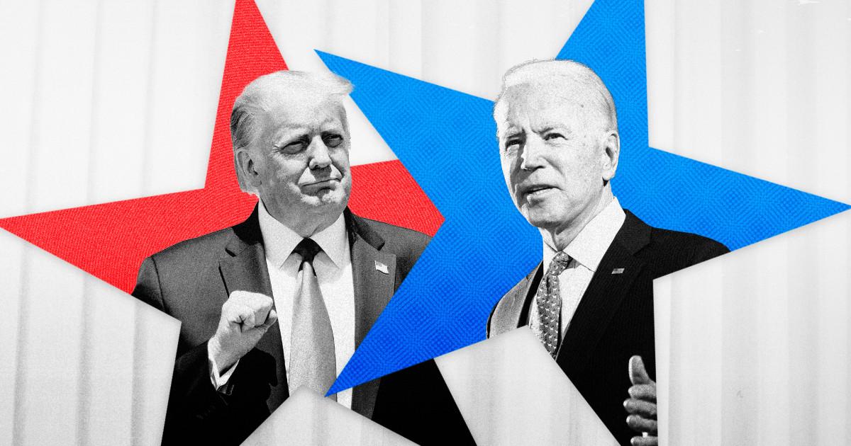 First presidential debate between Trump and Biden...