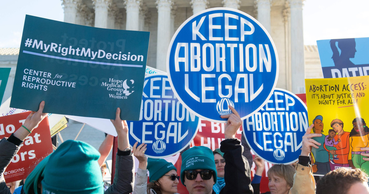 Poll: Majority of adults don't support overturning Roe v. Wade