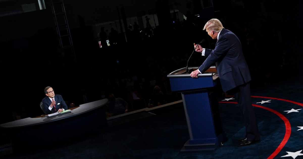 These are the internet's favorite memes from the first presidential debate of 2020