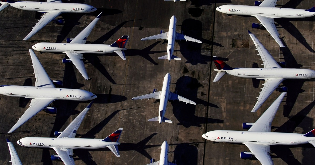 Tens of thousands of airline workers are out of jobs after Congress fails to reach deal