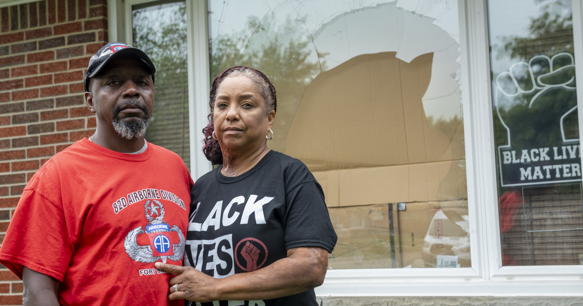 White suspect asks for forgiveness in attack on Black family's home – NBC News