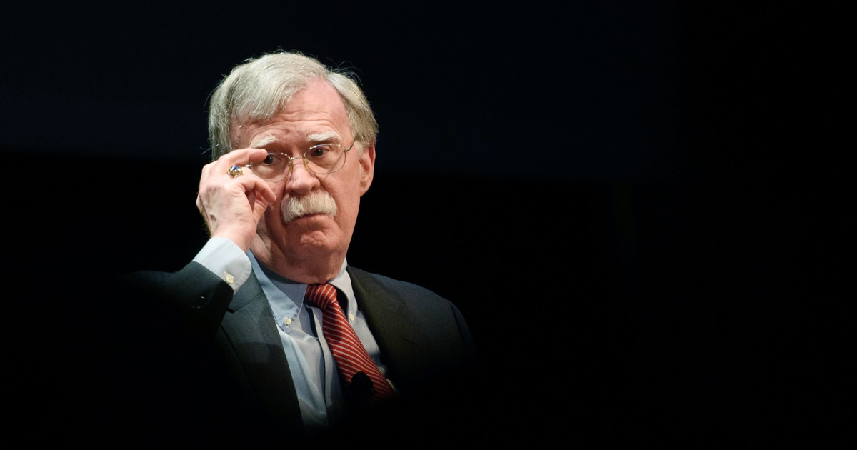 Judge rejects John Bolton's effort to dismiss government lawsuit over book