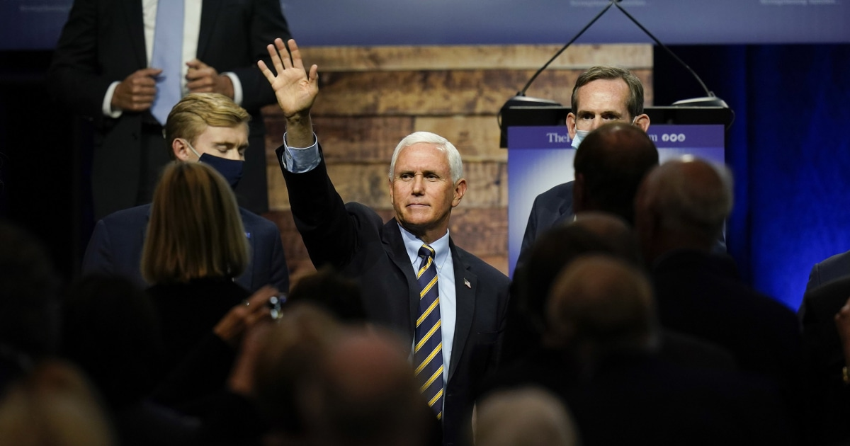 As Trump is hospitalized, Vice President Pence not transferred power, remains at his residence