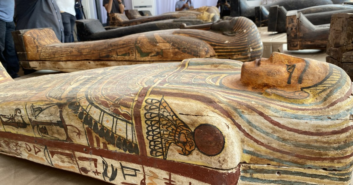 Ancient mummies unearthed in Egypt after more than 2,600 years