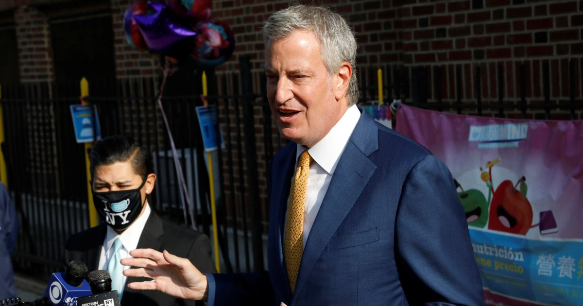 Nine ZIP codes in New York City may shut down after Covid spikes mayor says – NBC News