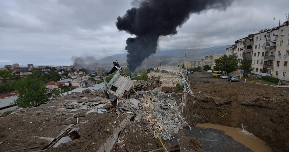 Armenia Azerbaijan blame each other for hitting civilian areas – NBC News