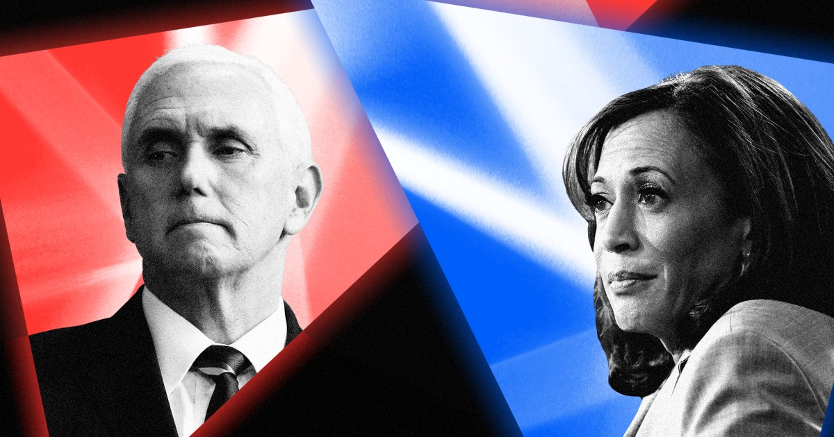 Pence Harris vice presidential debate: Everything you need to know – NBC News