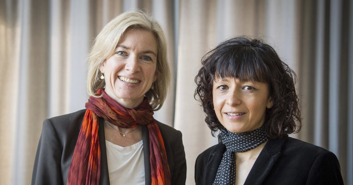 Nobel Prize in chemistry awarded to scientists Jennifer Doudna and Emmanuelle Charpentier for pioneering genome research