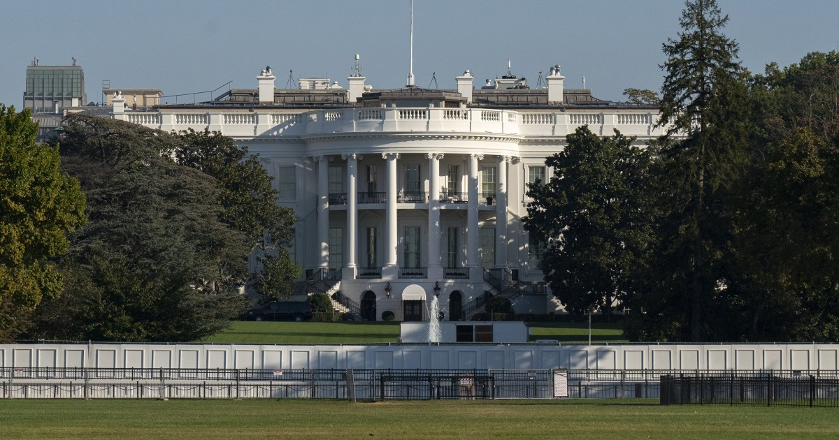2 more White House residence staff tested positive for the coronavirus - NBC News