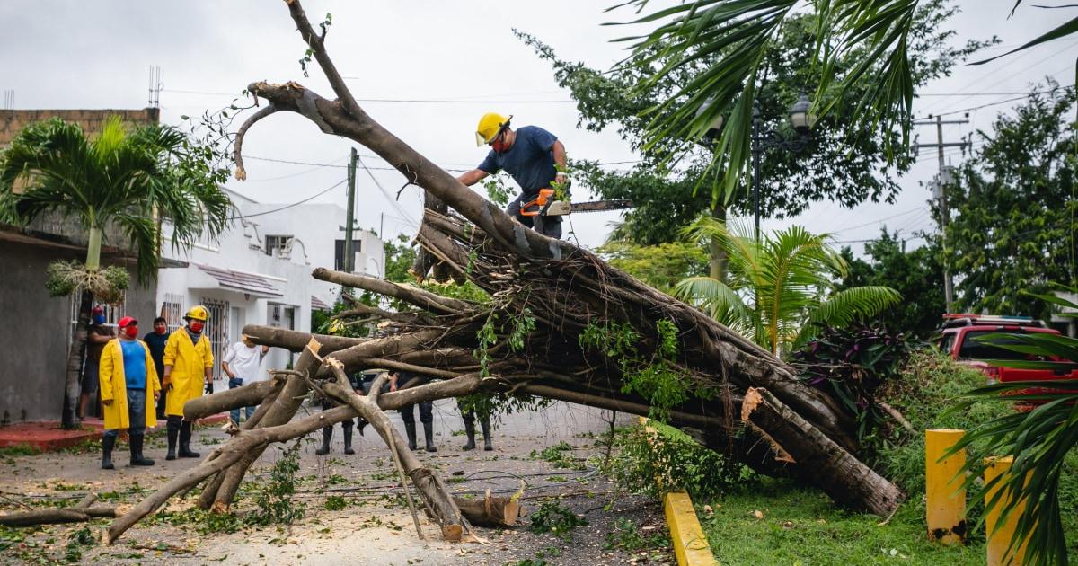Hurricane Delta strengthens as it takes aim at storm-weary Louisiana coast – NBC News