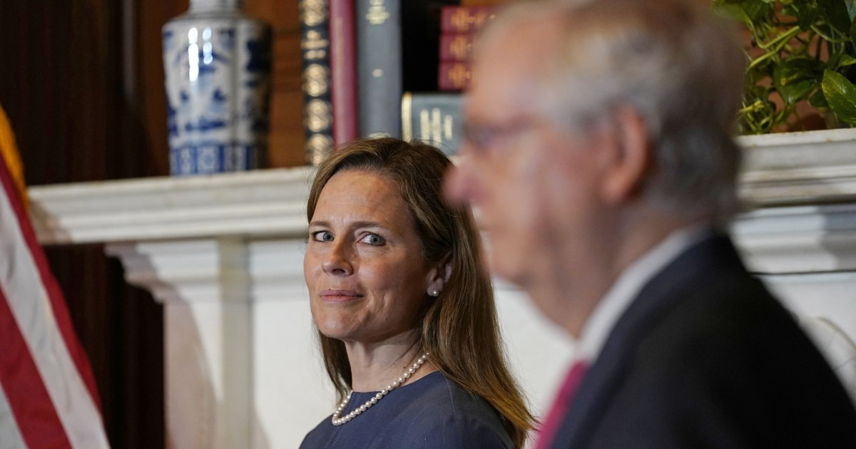 Republicans know they can't be honest about why they support Amy Coney Barrett thumbnail