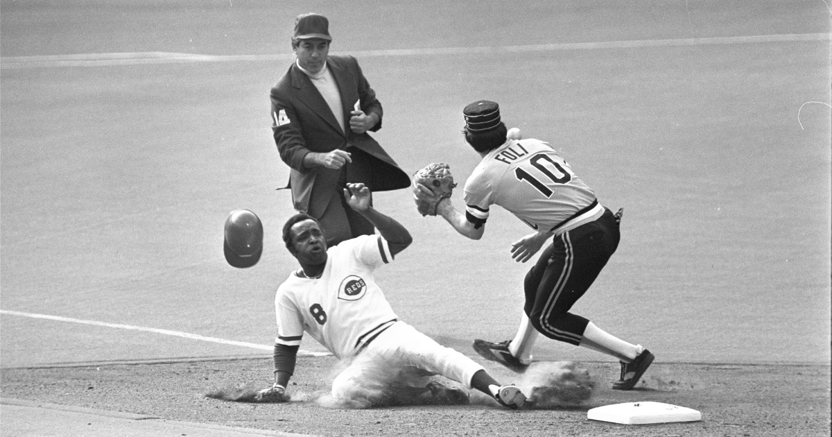 Joe Morgan Cincinnati Reds second baseman and heart of 1970s 'Big Red Machine' dies at 77 – NBC News