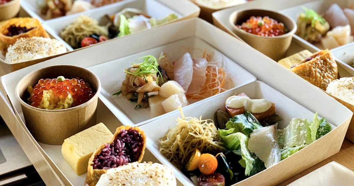 How pandemic bento boxes became their own care package and a new business model