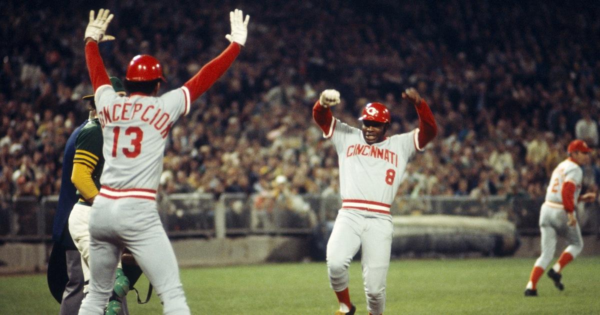 Joe Morgan, Cincinnati Reds second baseman and heart of 1970s 'Big Red Machine,' dies at 77