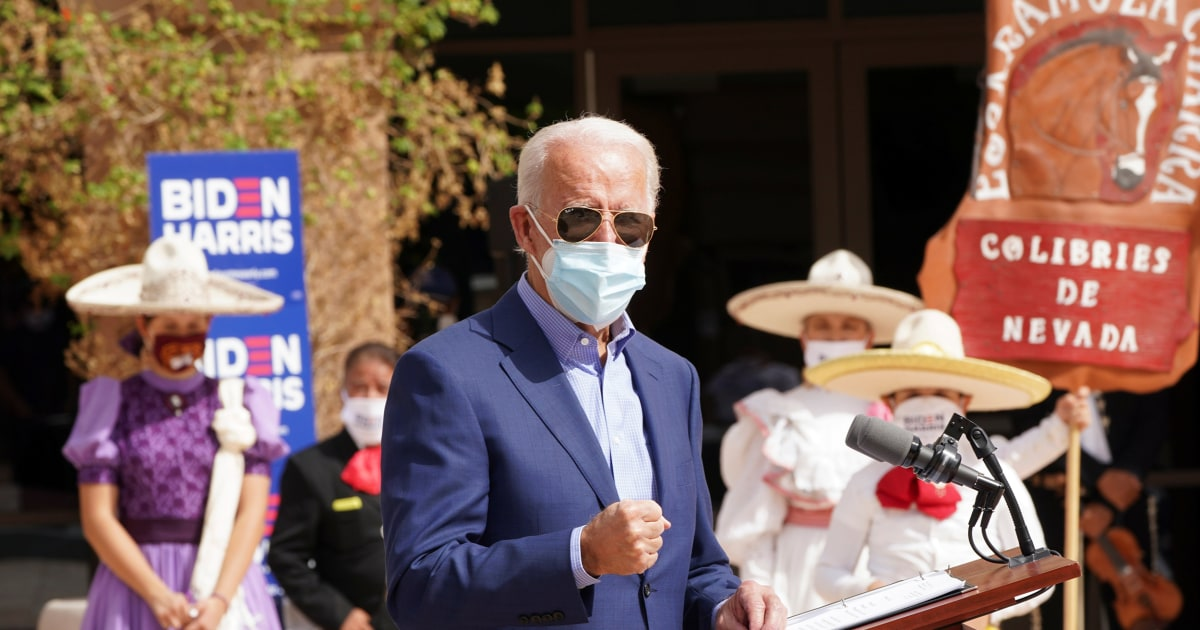 Biden campaign's microtargeting of Latino communities takes on a new twist