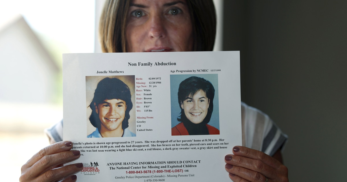 Idaho man charged with killing Colorado girl 12 who vanished in 1984 – NBC News