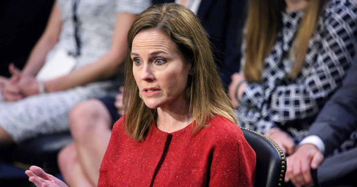 Amy Coney Barrett apologizes for use of phrase 'sexual preference'