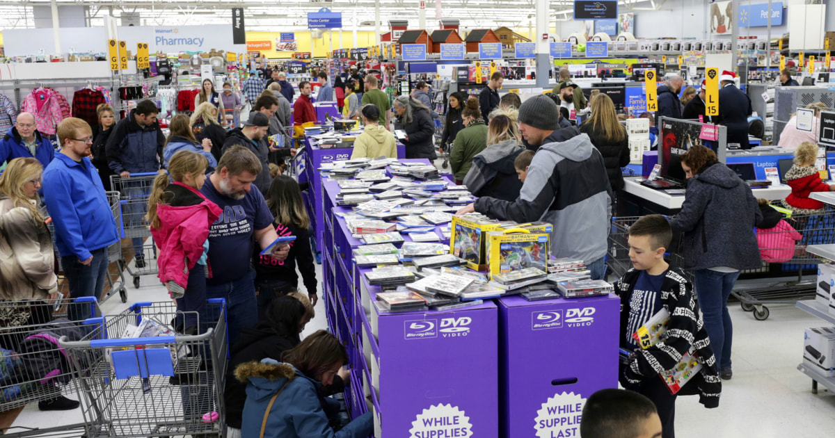 Walmart's plan for avoiding crowds this year? Offer three Black Friday... image