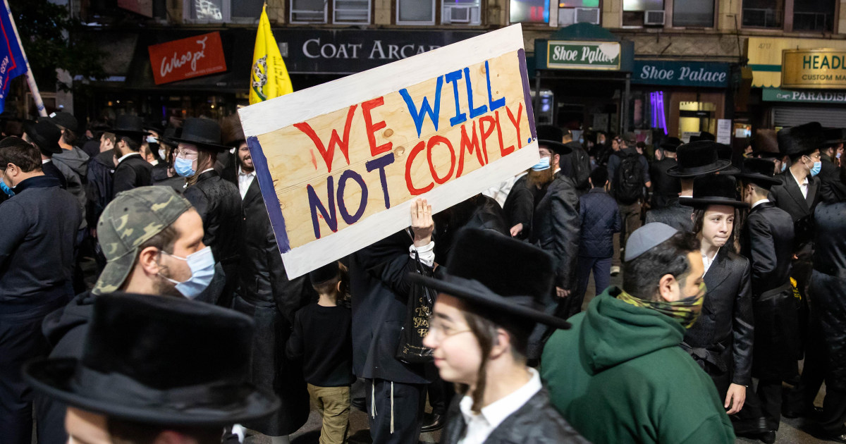 When Covid-19 rules are flouted by ultra-Orthodox Jews, it isn't anti-Semitism to call it out