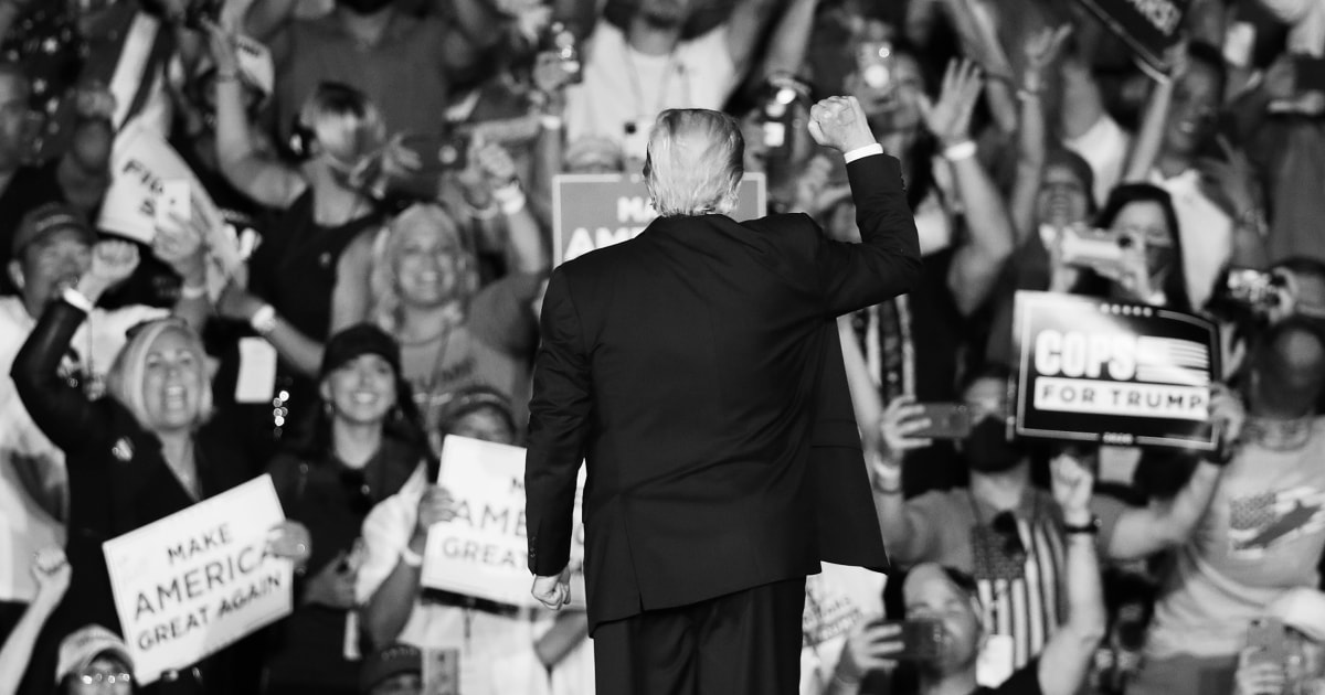 Trump's MAGA rally messaging is as erratic as he is. No wonder he's sinking in the polls.