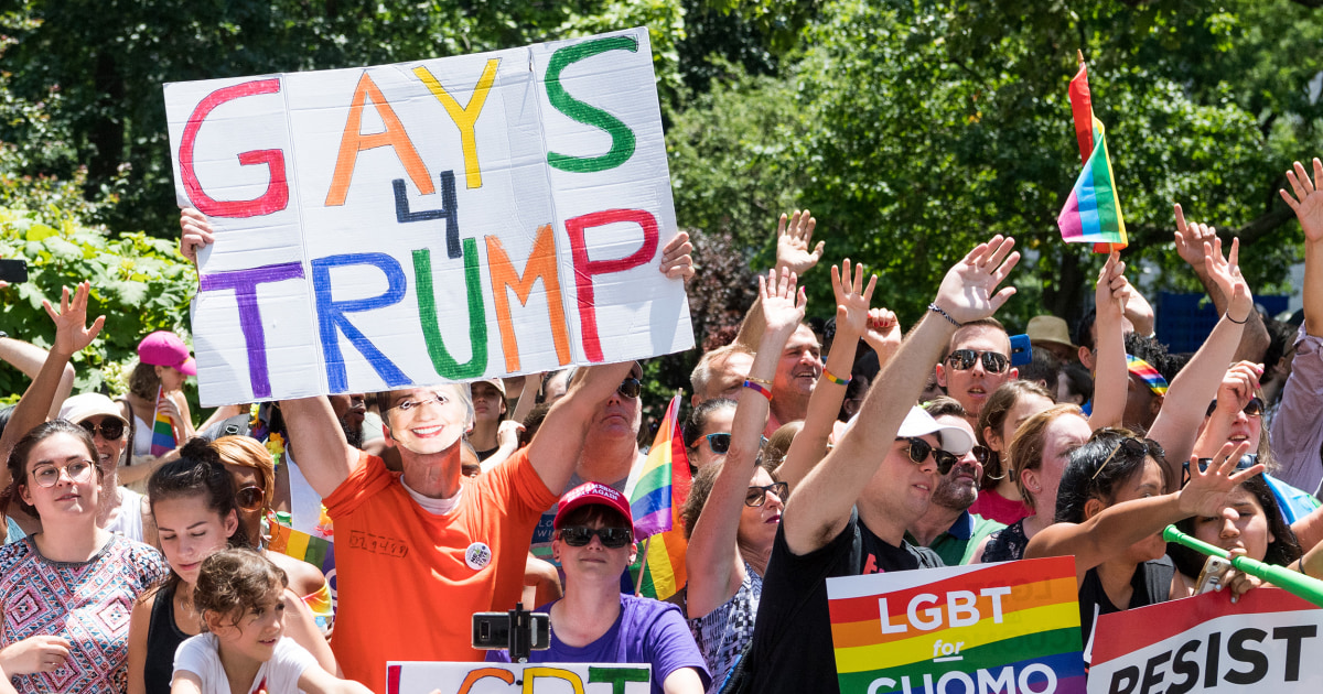 Trump Pride: Gay Republicans on why they're backing the president