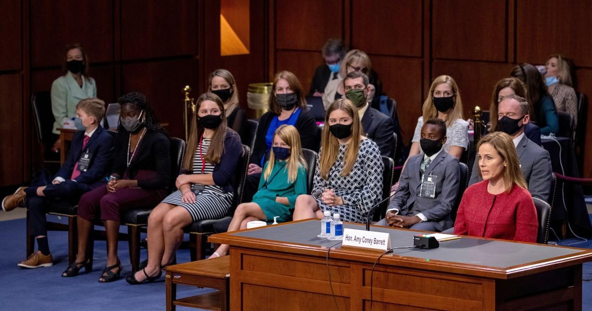 www.nbcnews.com: Amy Coney Barrett's hearing shines a spotlight on multirace families