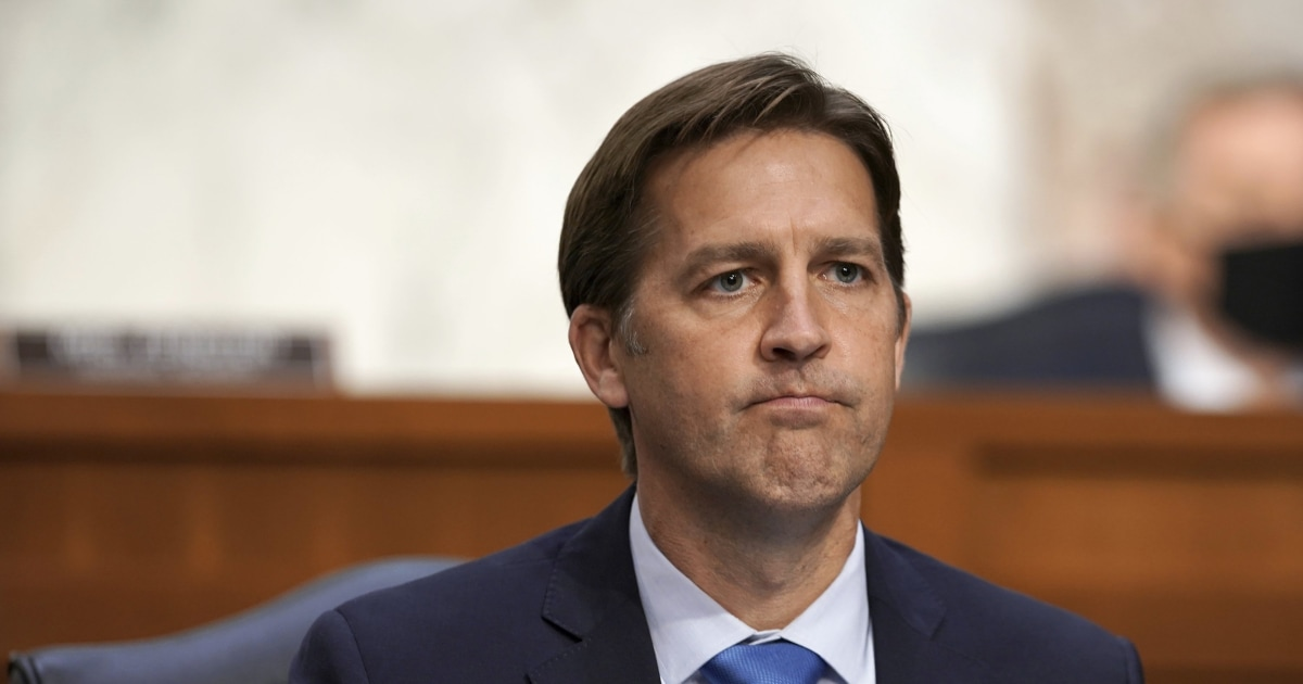 GOP Sen. Sasse unleashes scathing attack on Trump 'TV-obsessed' narcissist – NBC News