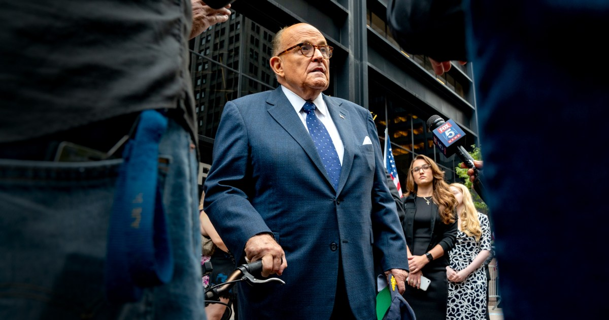 CIA other spy agencies told White House about Rudy Giuliani's dealings with alleged Russian agents – NBC News