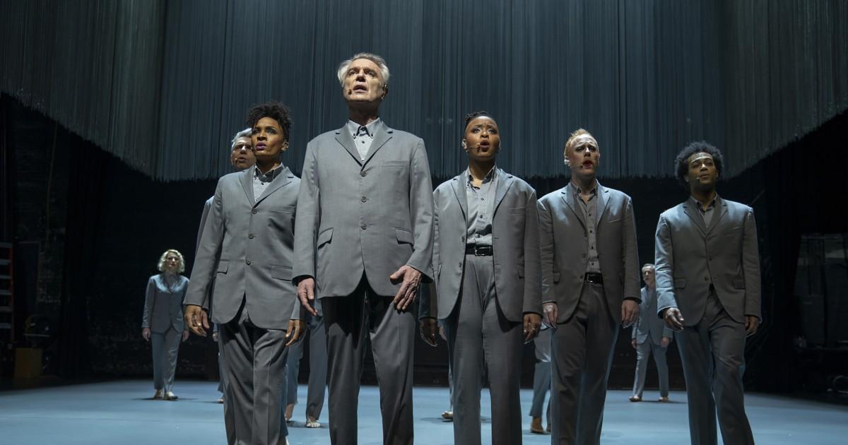 In HBO Max's 'American Utopia,' David Byrne and Spike Lee suggest solidarity brings us hope