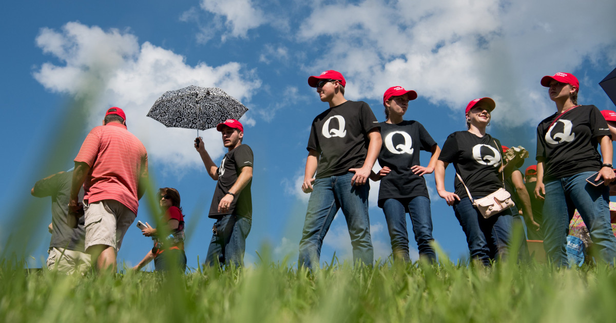 Trump's refusal to disavow QAnon is part of his pattern of encouraging hate for political gain