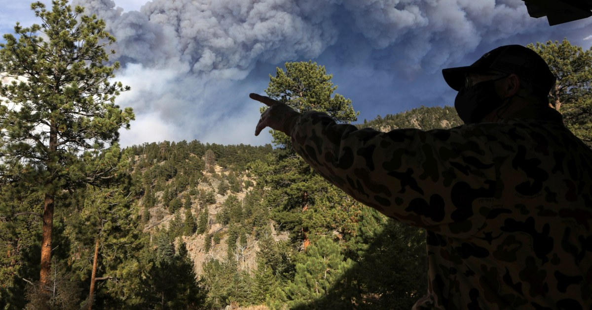 Colorado's largest-ever fire brings new round of evacuations – NBC News