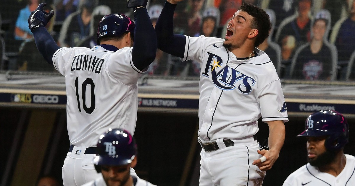 Tampa Bay Rays win American League pennant will face Dodgers or Braves in World Series – NBC News