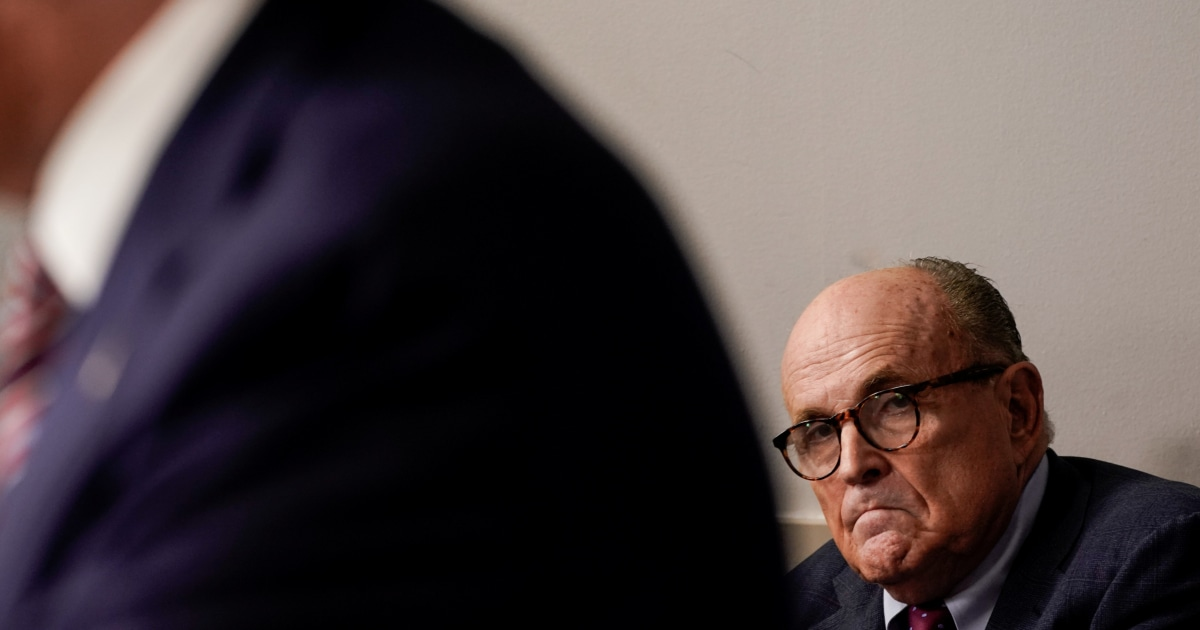 Things go from bad to worse for Giuliani's anti-Biden gambit
