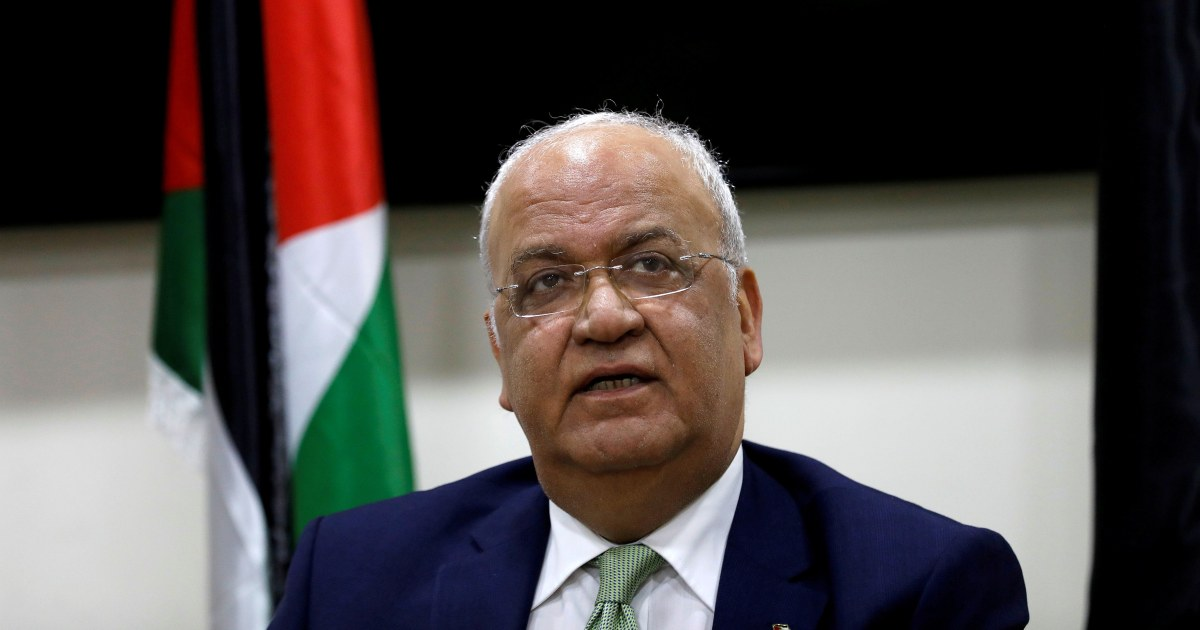 Senior PLO official Saeb Erekat taken to hospital as Covid-19 condition worsens – NBC News