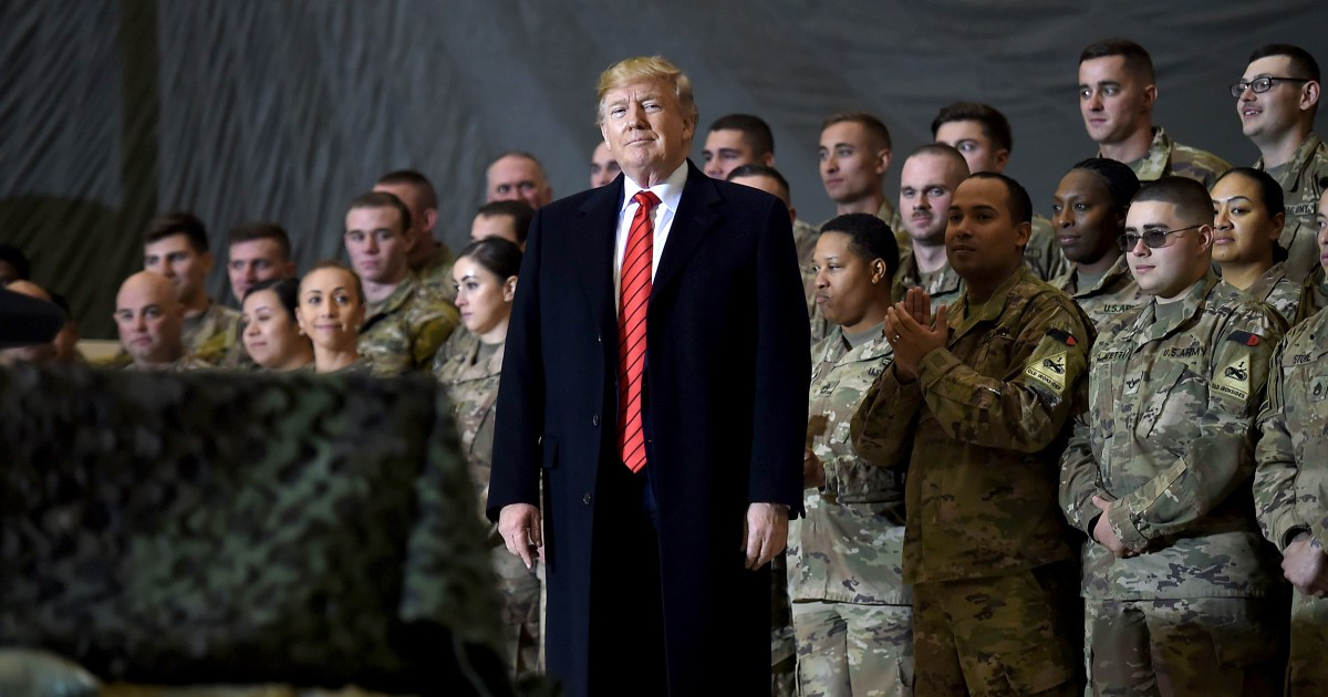 Trump's Twitter promises to bring U.S. troops home make headlines. Has he kept them?
