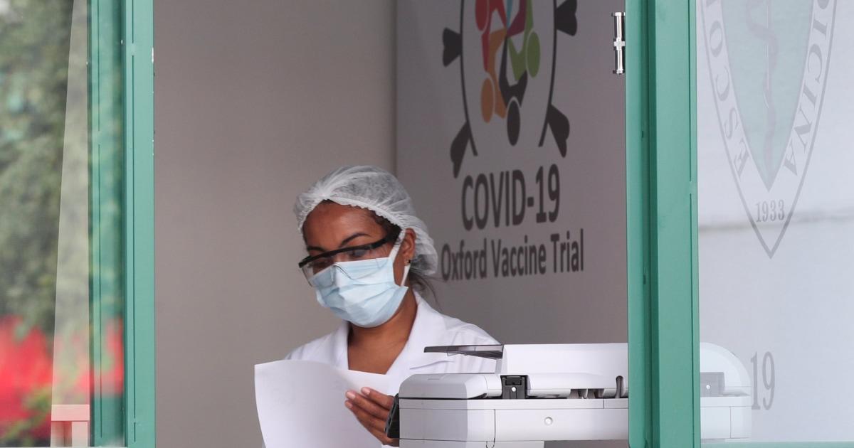 Volunteer in AstraZeneca Covid-19 vaccine trial dies in Brazil – NBC News
