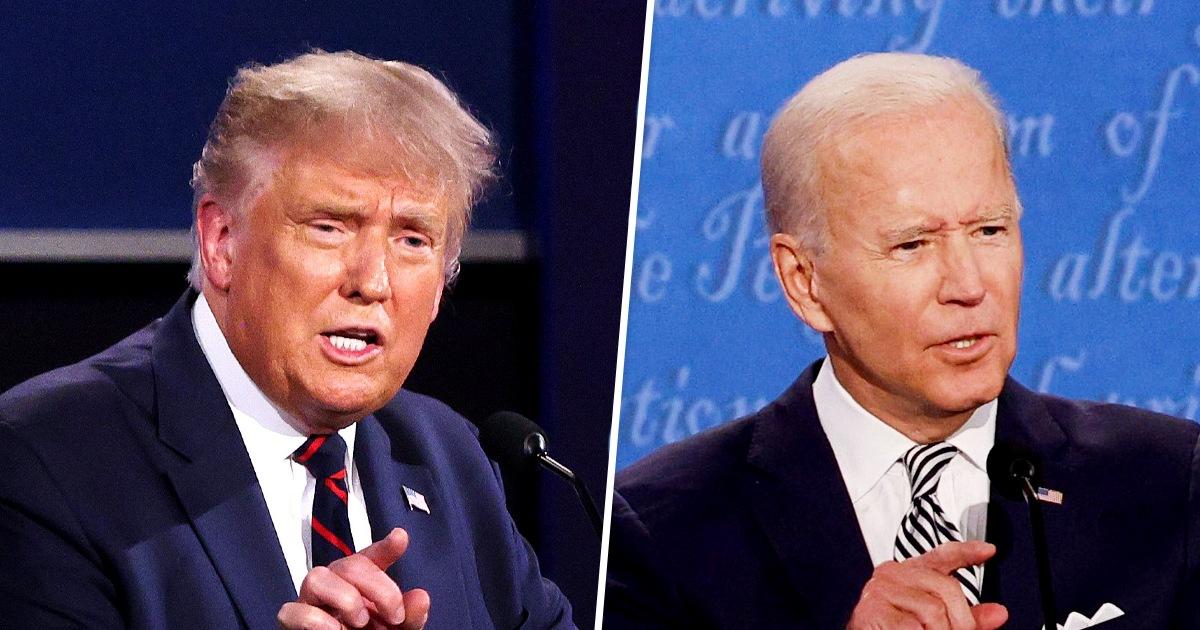 Trump, Biden look to seal the deal in final debate