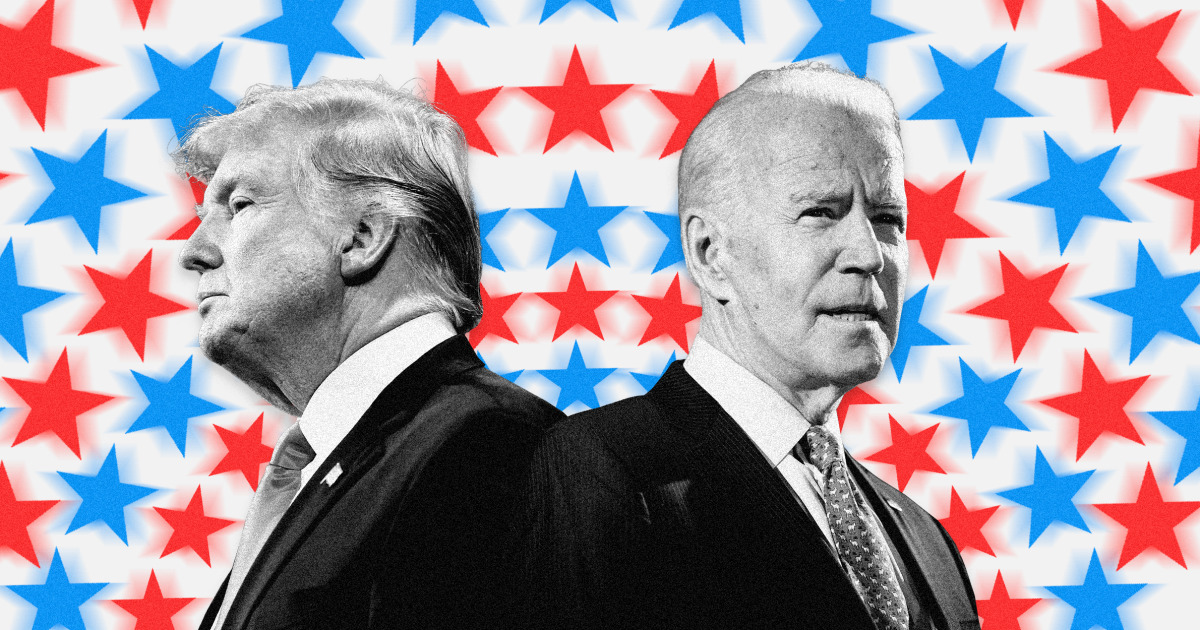 Trump, Biden presidential campaigns in final push