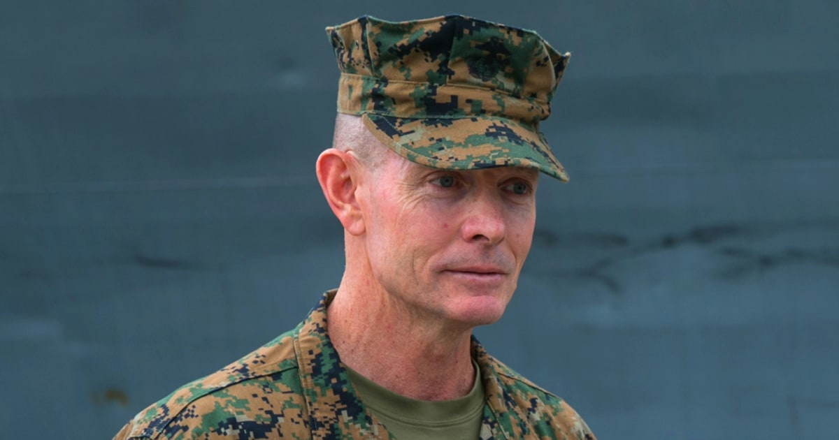 Marine commander in Europe and Africa under investigation for racial slur, relieved of duty