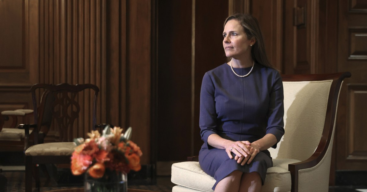 Amy Coney Barrett's partisan nomination subverts the very intent of the Supreme Court