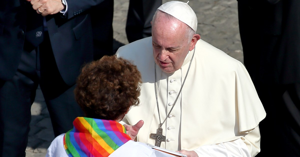 Pope Francis has said progressive things before only to backtrack. Civil unions could be the same.