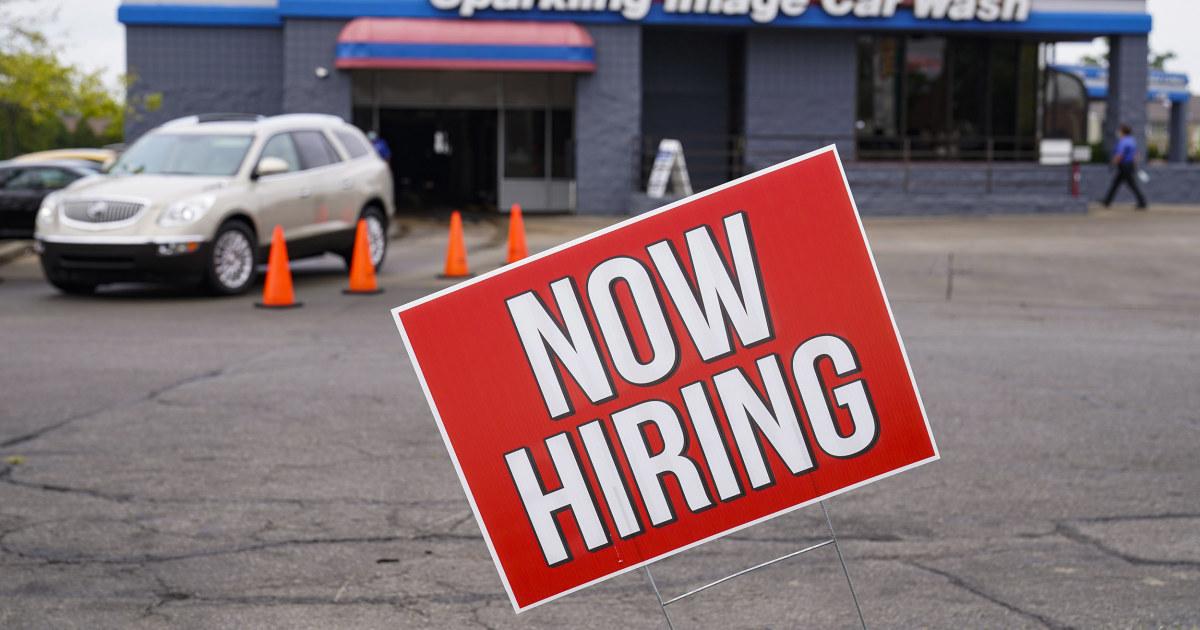 Job growth in April falls short, jolts debate over Biden's plans