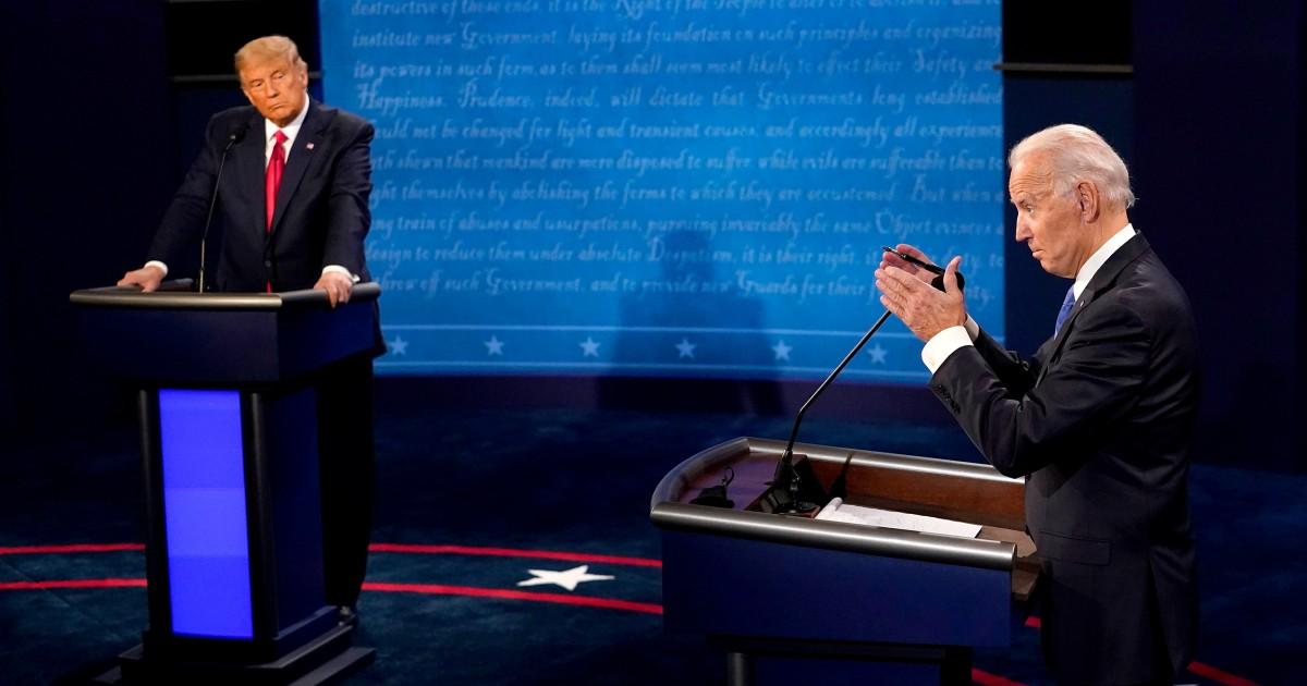 Who won the Trump-Biden debate? Experts grade the candidates