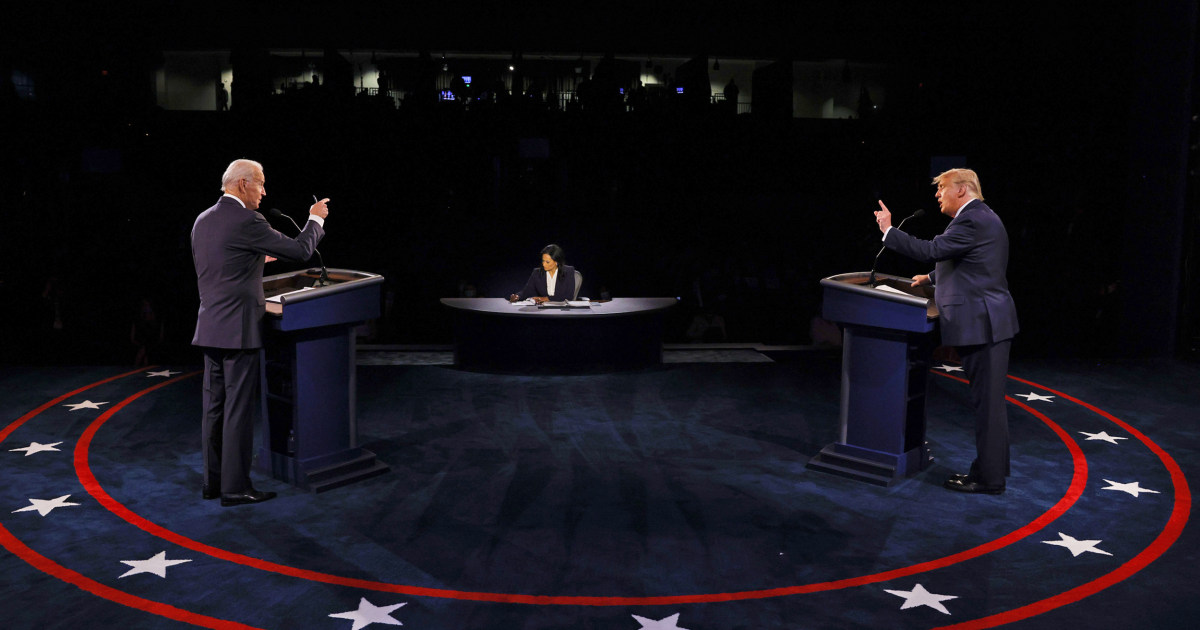 Final Trump-Biden debate finally provides clarity on the issues