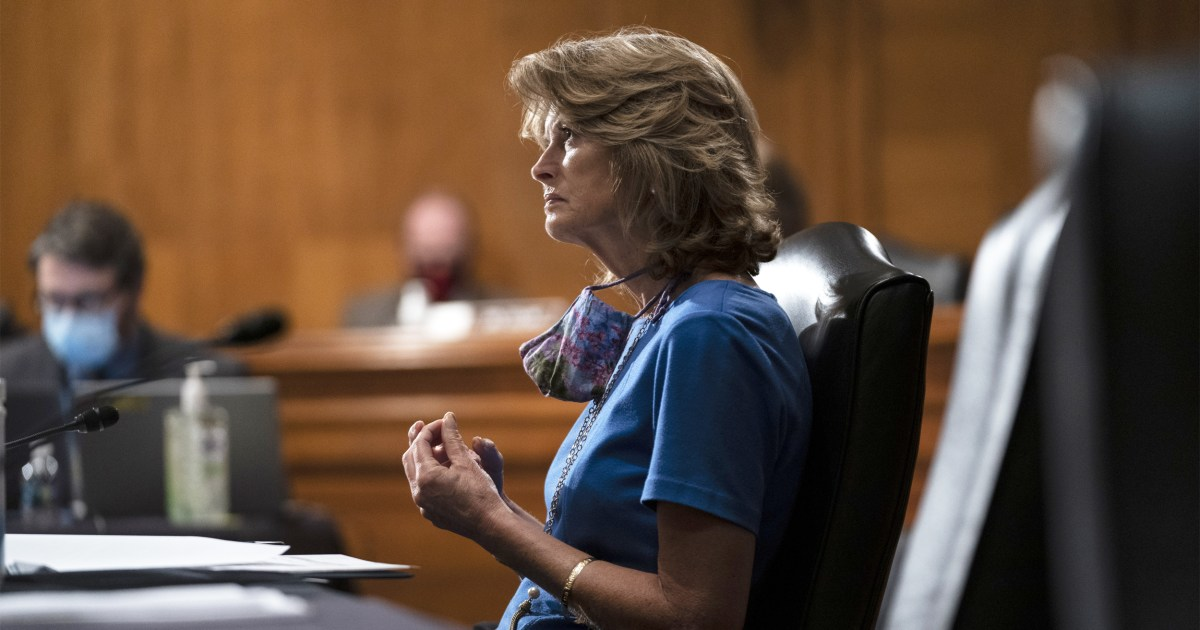 JUST IN: Republican Sen. Murkowski reverses course and says she now plans to vote in favor of Judge Amy Coney Barrett's final confirmation to the U.S. Supreme Court, which is expected to happen early next week.